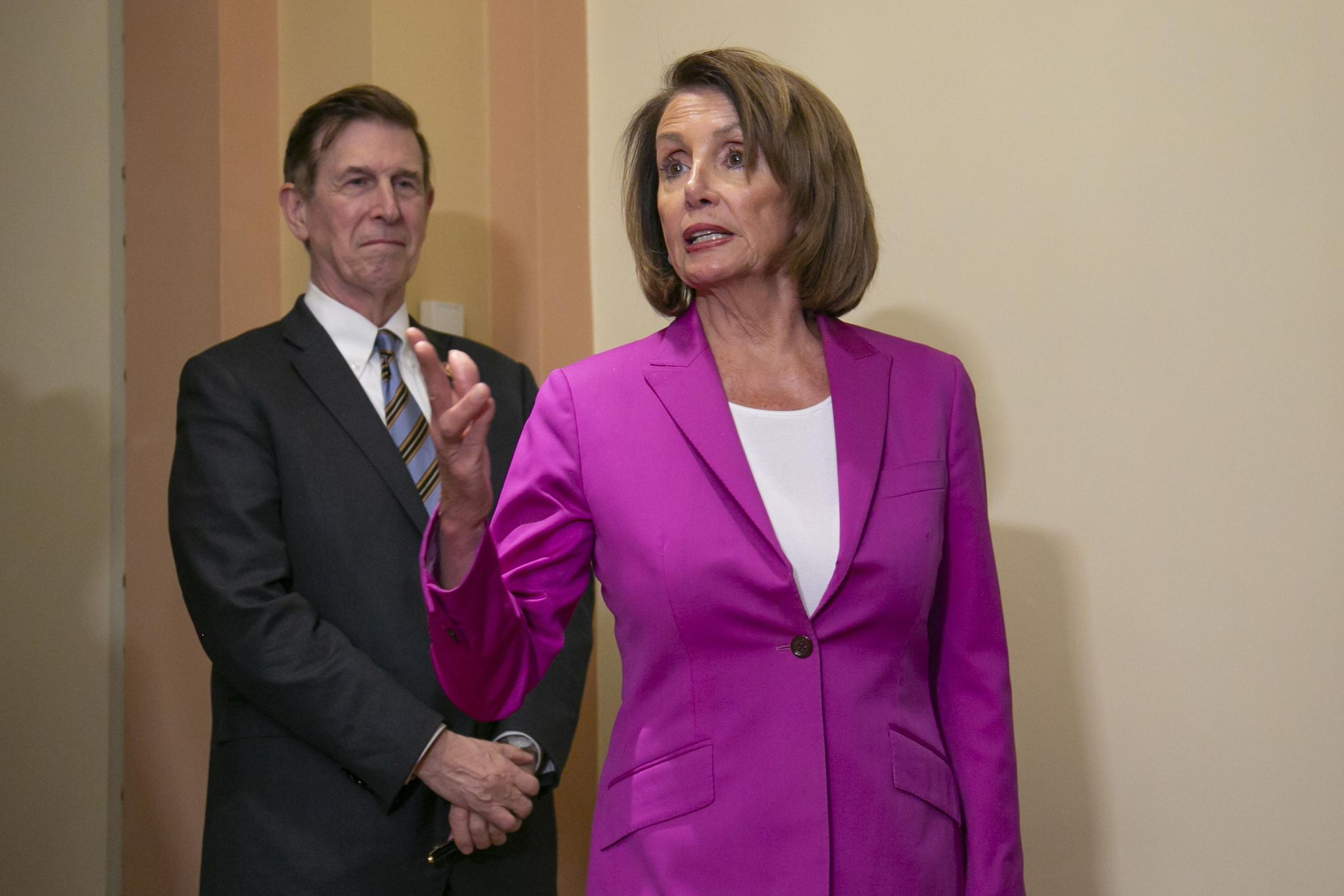 Trump asks why Pelosi is getting paid during the shutdown