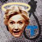 Halo for Hillary, Noose for Trump Illustration by Greg Groesch/The Washington Times