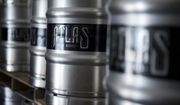 UNITED STATES - SEPTEMBER 17: Kegs are stacked at Atlas Brew Works on West Virginia Avenue, NE. (Photo By Tom Williams/CQ Roll Call)  (CQ Roll Call via AP Images)