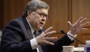 William Barr, President Trump's pick to be the next attorney general, answers questions at his confirmation hearing, on Capitol Hill in Washington, Tuesday, Jan. 15, 2019. (AP Photo/J. Scott Applewhite)
