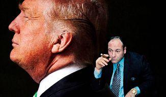 President Donald Trump and Tony Soprano     The Washington Times