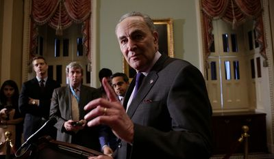 """""""That's not good enough, especially with someone like Donald Trump who has treated the Justice Department as if it's his own fiefdom,"""" said Sen. Charles E. Schumer, of New York."""