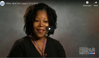 MLK Day Of Service - video - Corporation for National and Community Service