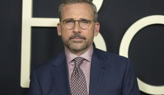 "In this Oct. 8, 2018 file photo, Steve Carell arrives at the premiere of ""Beautiful Boy"" in Beverly Hills, Calif. Carell will reunite with his creative team from ""The Office,"" Greg Daniels and Howard Klein, for the new Netflix comedy series ""Space Force."" (Photo by Richard Shotwell/Invision/AP, File)"