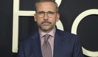 "FILE - In this Oct. 8, 2018 file photo, Steve Carell arrives at the premiere of ""Beautiful Boy"" in Beverly Hills, Calif. Carell will reunite with his creative team from ""The Office,"" Greg Daniels and Howard Klein, for the new Netflix comedy series ""Space Force."" (Photo by Richard Shotwell/Invision/AP, File)"