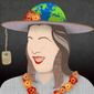 The Minnie Pearl of Foreign Policy Illustration by Greg Groesch/The Washington Times
