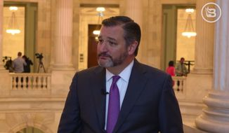 "Sen. Ted Cruz speaks with BlazeTV's ""Capitol Hill Brief"" on the government shutdown, Jan 16, 2019 in this file photo. (Image: Facebook, ""Capitol Hill Brief"" videos screenshot) **FILE**"