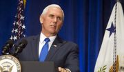 Vice President Mike Pence speaks at 2019 March for Life dinner in Washington, Friday, Jan. 18, 2019. (AP Photo/Cliff Owen) **FILE**