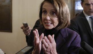 For House Speaker Nancy Pelosi, the shutdown showdown has become increasingly personal. (Associated Press/File)