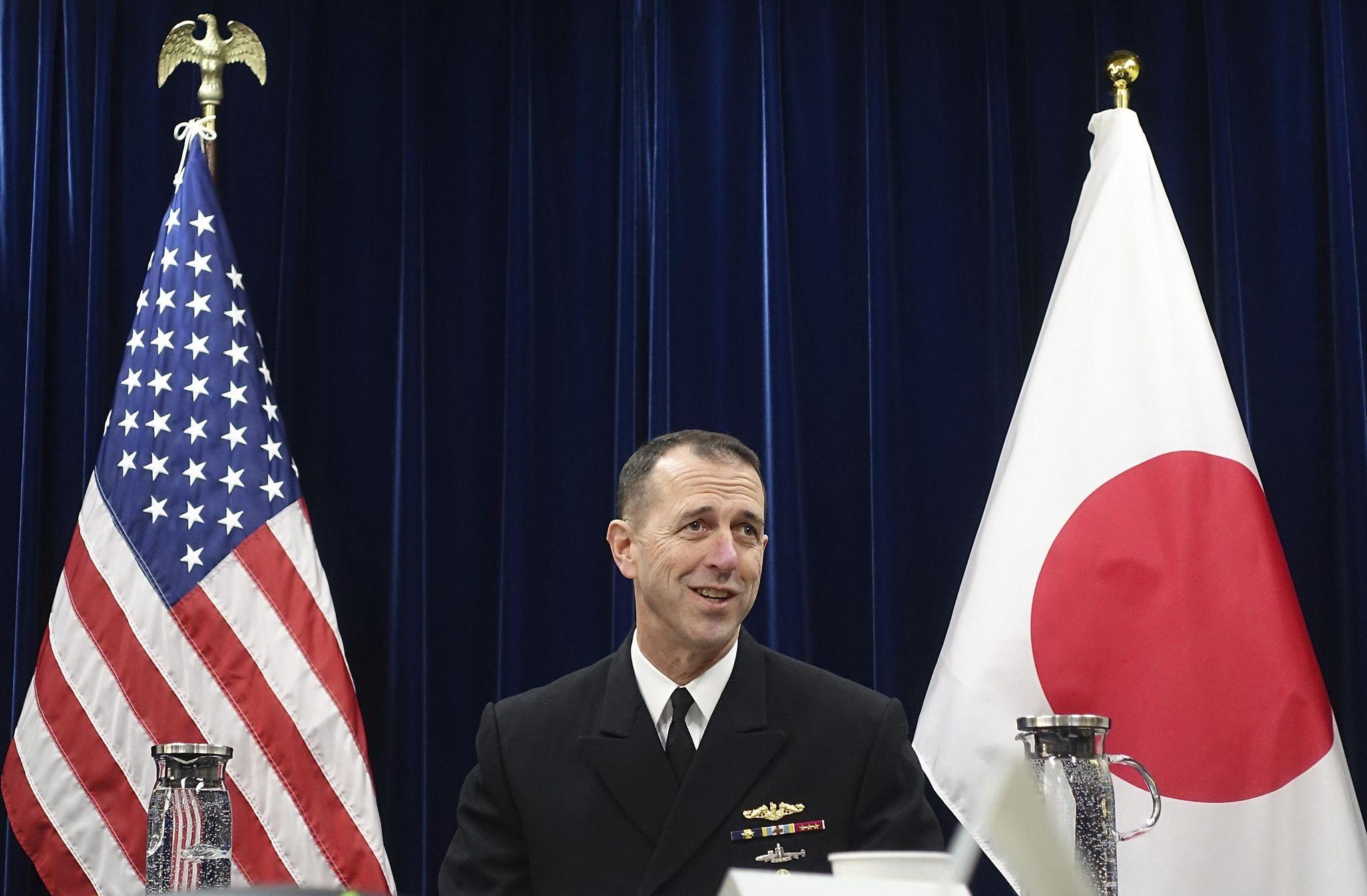 U.S. considers sending aircraft carrier through Taiwan Strait