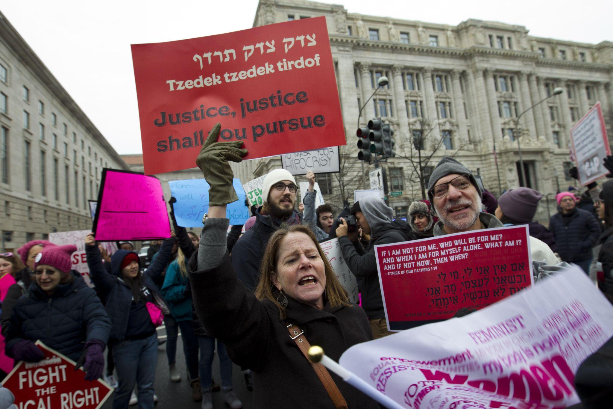 Women's March kicks off with release of agenda blasting pro-Israel, anti-BDS legislation