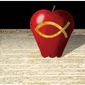 Illustration on the Constitution and religious education by Alexander Hunter/The Washington Times