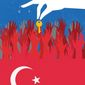 Illustration on U.S./Turkey relations and the Kurds by Linas Garsys/The Washington Times