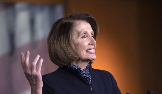 President Trump's recent decision to deny House Speaker Nancy Pelosi use of a military aircraft prompted Judicial Watch President Tom Fitton to revisit her longstanding travel habits. (Associated Press)