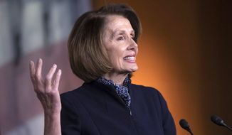 House Speaker Nancy Pelosi of California has been the subject of several favorable headlines during the battle over the border wall. (Associated Press)