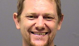 This Aug. 2018, booking photo of Mark Leo Gregory Gago, 42, was provided by the Clackamas, Ore., County Sheriff's Department. Gago killed four members of his family Saturday night, Jan. 19, 2019 at the rural home they shared and was shot by sheriff's deputies as he tried to kill a girl, authorities said. Gago killed his parents, his girlfriend and their infant daughter Saturday, Jan. 19, 2019, night before deputies shot him, the Clackamas County Sheriff's Office said. The sheriff's office identified the victims as Olivia Gago, 9 months, Shaina Sweitzer, 31, Jerry Bremer, 66, and Pamela Bremer, 64. (Clackamas County Sheriff's Department via AP)