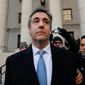 Michael Cohen. (Associated Press) ** FILE **