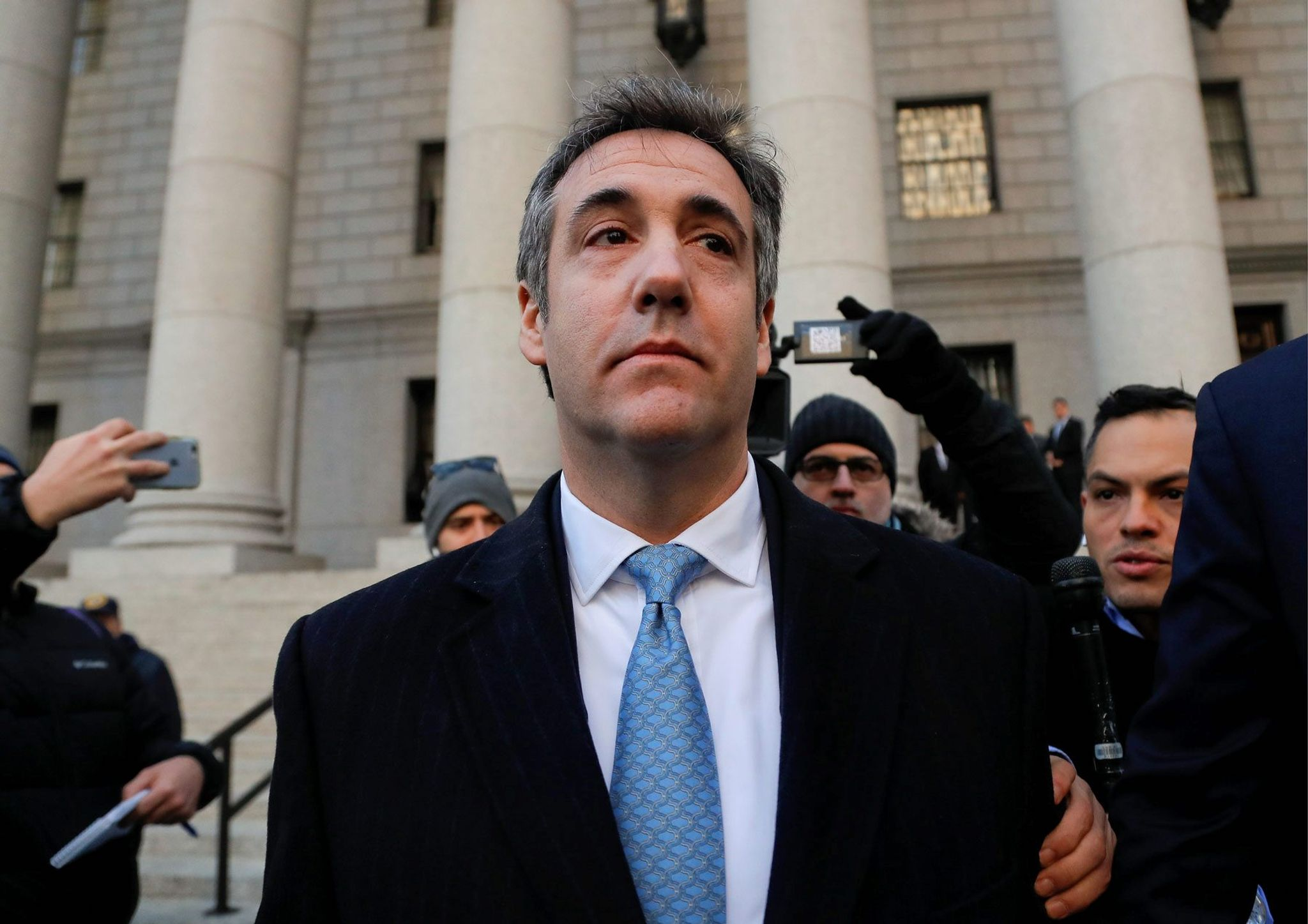 IRS employee charged with leaking Michael Cohen's records to Michael Avenatti