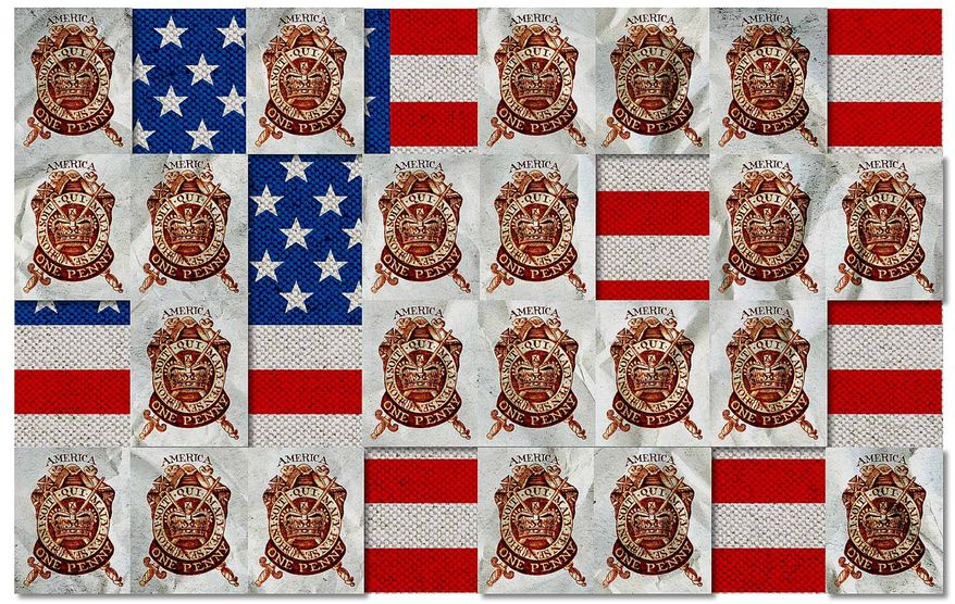 The 1765 Stamp Act Illustration by Greg Groesch/The Washington Times