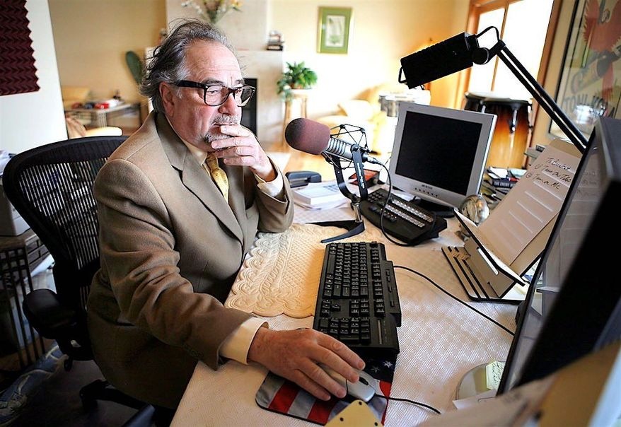 """Talk radio host Michael Savage wrote an op-ed on his website about the identity of """"the real dreamers"""" in American society today. (Associated Press)"""