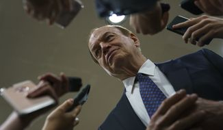 "The bill, introduced by Appropriations Committee Chairman Richard Shelby, runs to 1,301 pages. ""The president has proposed a serious compromise to end this shutdown,"" Mr. Shelby said. ""It would not only fund the government and secure the border, but also provide immigration reforms the Democrats have long supported."" (Associated Press)"