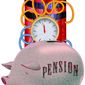 Costly Pension Crisis Illustration by Greg Groesch/The Washington Times