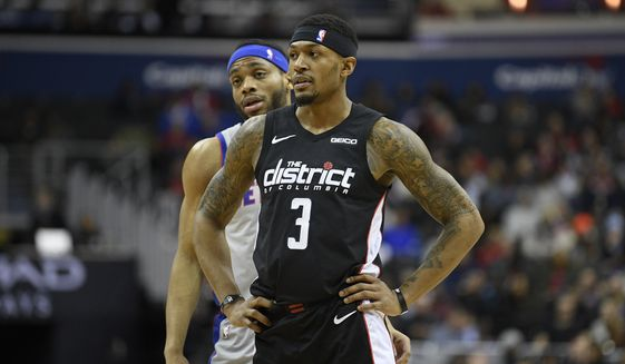 super popular 5bcaf 1adad Bradley Beal not selected as All-Star starter - Washington Times