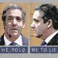 Convicted of Lying Illustration by Greg Groesch/The Washington Times
