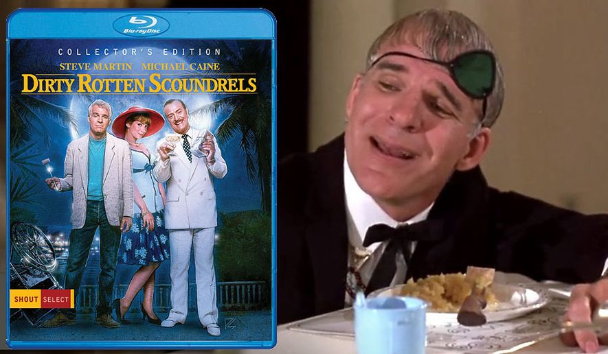 Blu-ray review: 'Dirty Rotten Scoundrels: Collector's Edition