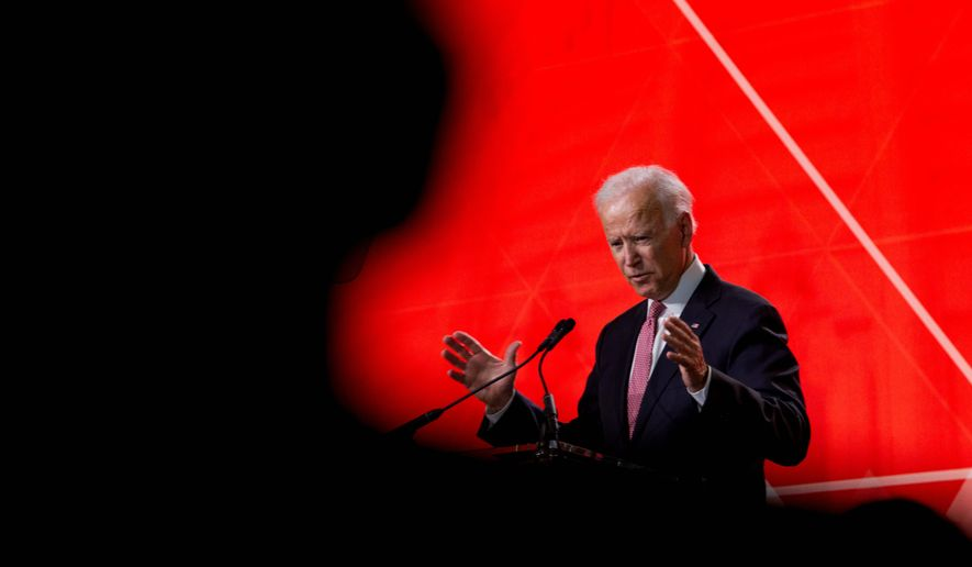 Former Vice President Joseph R. Biden consistently leads polls of likely Democratic primary voters. A poll this week put him well above Sen. Bernard Sanders. (Associated Press)