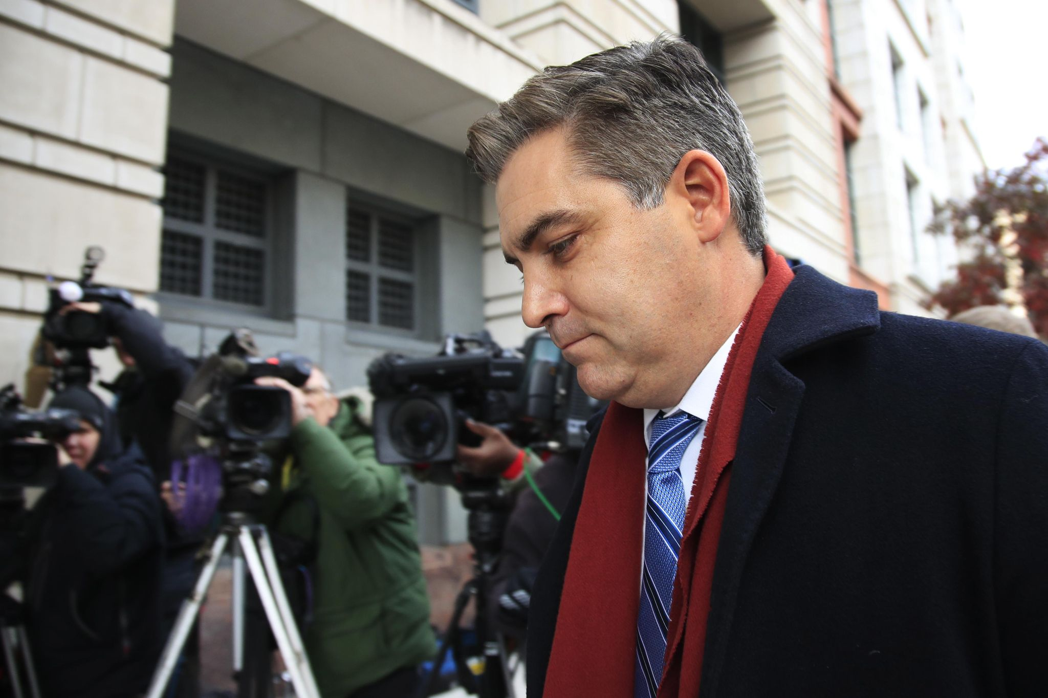 Jim Acosta rips Sean Hannity's 'fauxmacho man bulls--' over anti-Trump book battle