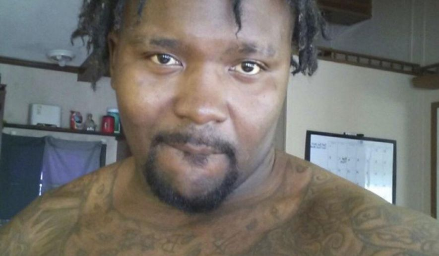 This undated photo released by the Georgia Bureau of Investigation shows Daylon Delon Gamble. Authorities in Georgia are on the lookout for Gamble who they say killed four people and wounded a man in a pair of shootings. The G.B.I. tweeted early Friday, Jan. 25, 2019,  that the 27-year-old Daylon Delon Gamble is armed and dangerous and wanted on four charges of murder for the shootings Thursday night in Rockmart, Ga., northwest of Atlanta.   (Georgia Bureau of Investigation via AP)