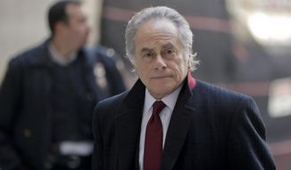 Attorney Benjamin Brafman arrives at New York Supreme Court, Friday, Jan. 25, 2019, in New York. Harvey Weinstein is scheduled to appear before a New York judge for a hearing transferring his case to a new legal team.(AP Photo/Julio Cortez)