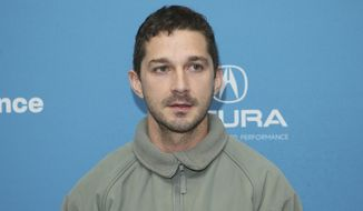 """Actor Shia LaBeouf poses at the premiere of """"Honey Boy"""" during the 2019 Sundance Film Festival, Friday, Jan. 25, 2019, in Park City, Utah. (Photo by Danny Moloshok/Invision/AP)"""