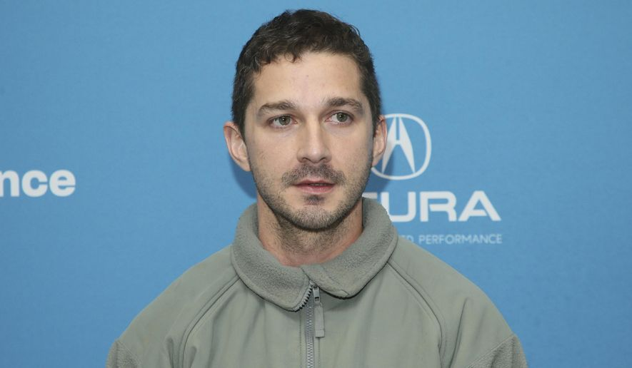 "Actor Shia LaBeouf poses at the premiere of ""Honey Boy"" during the 2019 Sundance Film Festival, Friday, Jan. 25, 2019, in Park City, Utah. (Photo by Danny Moloshok/Invision/AP)"