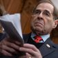 """""""Now more than ever, Congress must return to fundamental American ideals in leading our country out of the darkness,"""" said House Judiciary Chairman Jerrold Nadler. House Democrats want to reform elections and restore voting rights to felons across the nation and impose restrictions on political campaign speech. (Associated Press photographs)"""