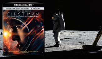 """Ryan Gosling stars as Neil Armstrong in """"First Man,"""" now available on 4K Ultra HD from Universal Studios Home Entertainment."""