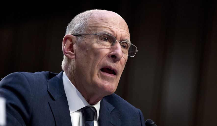 Director of National Intelligence Daniel Coats testifies before the Senate Intelligence Committee on Capitol Hill in Washington Tuesday, Jan. 29, 2019. (AP Photo/Jose Luis Magana) ** FILE **