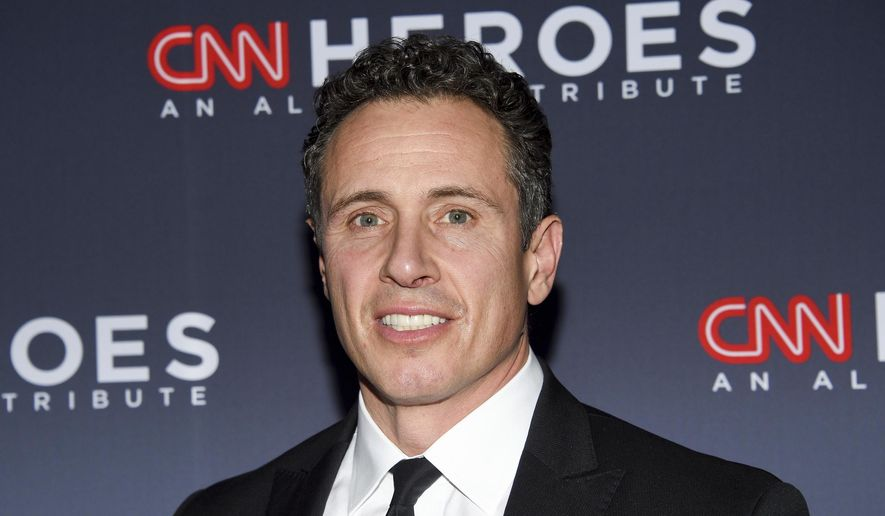 "CNN anchor Chris Cuomo attends the 12th annual ""CNN Heroes: An All-Star Tribute"" in New York, Dec. 9, 2018. (Photo by Evan Agostini/Invision/AP) ** FILE **"