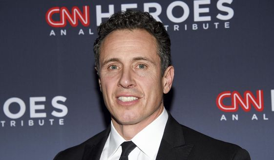 """CNN anchor Chris Cuomo attends the 12th annual """"CNN Heroes: An All-Star Tribute"""" in New York, Dec. 9, 2018. (Photo by Evan Agostini/Invision/AP) ** FILE **"""