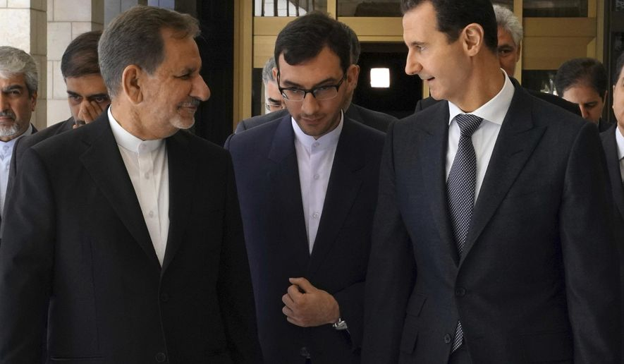 Syria, Iran reach new economic agreements - Washington Times