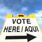 A comprehensive study from the Pew Research Center now says that the largest ethnic voting bloc in the United States is Hispanic voters. (Associated Press)