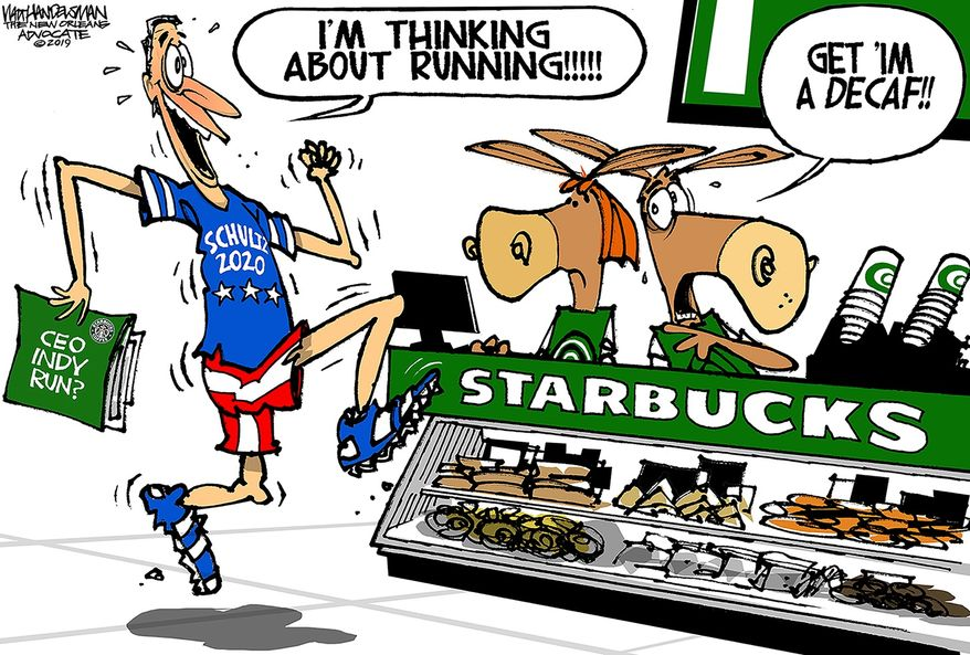 Illustration by Walt Handelsman of The New Orleans Advocate
