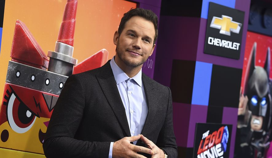 "Cast member Chris Pratt arrives at the world premiere of ""The Lego Movie 2: The Second Part"" on Sunday, Feb. 2, 2019, in Los Angeles. (Photo by Jordan Strauss/Invision/AP)"
