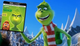 """Dr. Seuss' The Grinch,"" now available on 4K Ultra HD from Universal Studios Home Entertainment."