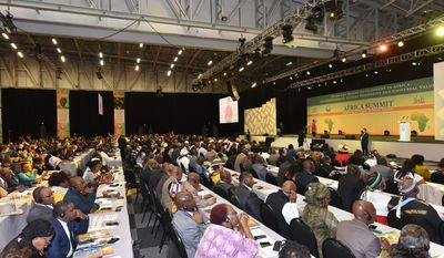 Some 1,000 political, tribal, community and faith leaders came to Cape Town, South Africa, in November for a summit co-sponsored by the Universal Peace Federation and Royal House of Mandela. (Photo credit: UPF-International)