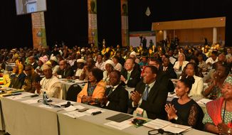 Hundreds of African dignitaries gathered for the two-day Africa Summit in Cape Town, South Africa, in November. (photo credit: UPF-International)