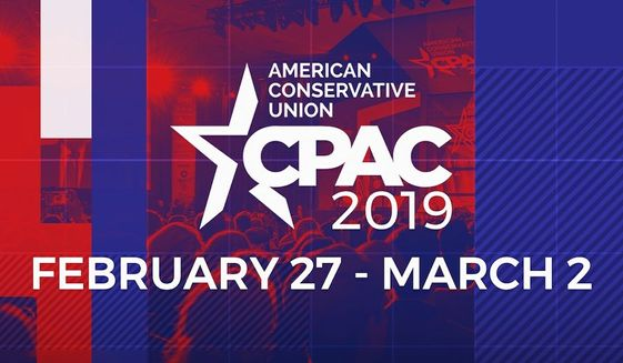 The official 2019 CPAC Straw Poll shows the vast majority of attendees at the conservative conference back the president's emergency declaration authorizing spending on the border wall.  (American Conservative Union)