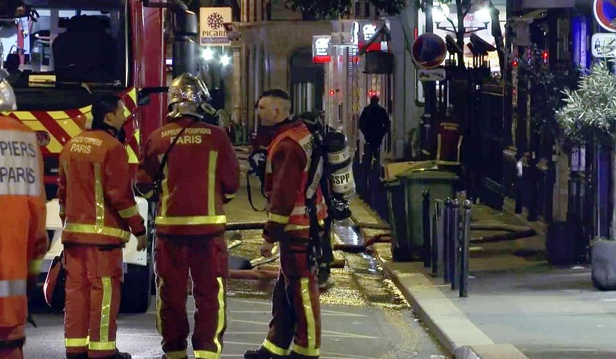 The Latest Paris Fire Suspect Transferred For Medical Exams