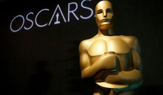 """FILE - In this Feb. 4, 2019 file photo, an Oscar statue appears at the 91st Academy Awards Nominees Luncheon in Beverly Hills, Calif. ABC's  Entertainment President Karey Burke says this year's pre-Oscar ceremony disarray had an upside. Burke said the """"lack of clarity"""" over the ceremony kept the Oscars in the public conversation. The biggest flap was over Kevin Hart's quick exit as host because of years-old homophobic tweets that he apologized for. That left the Oscars without a host as the Feb. 24 ceremony on ABC loomed, and producers finally decided to go without one. (Photo by Danny Moloshok/Invision/AP, File)"""